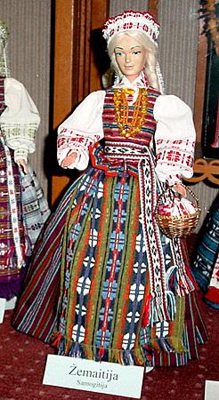 Zemaitija Region Costume by Aldona Vaitoniene at Balzekas Museum ...